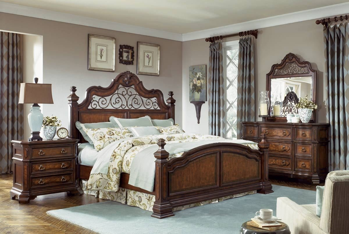 Best Legacy Classic Royal Tradition Poster Bedroom Set 1080 With Pictures
