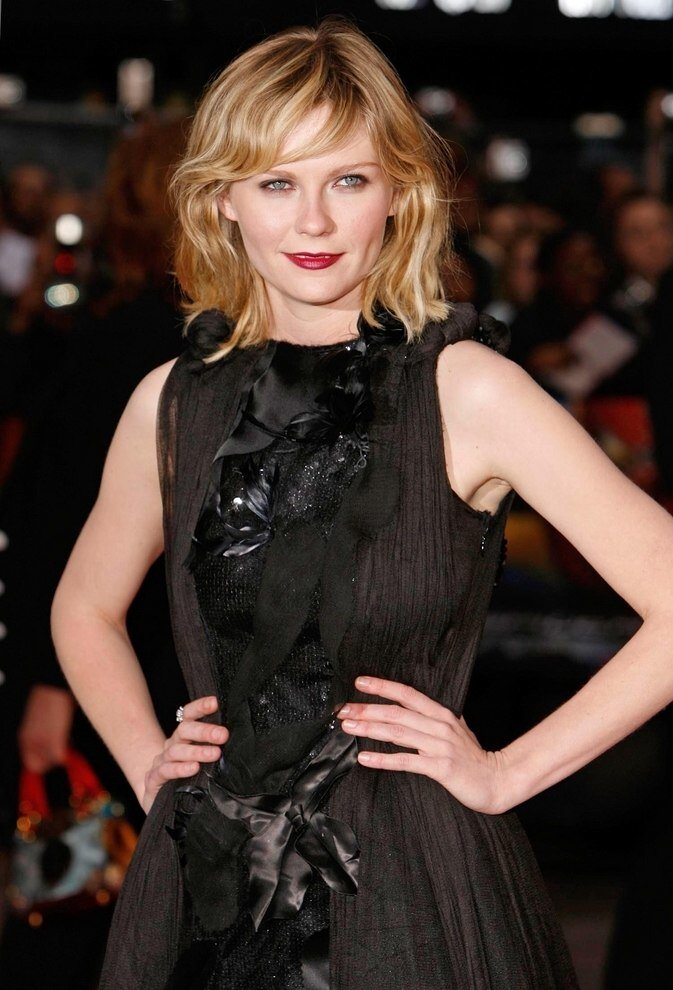 Free Kirsten Dunst Claudia Schiffer Sh*G Haircut For Curly Hair Wallpaper