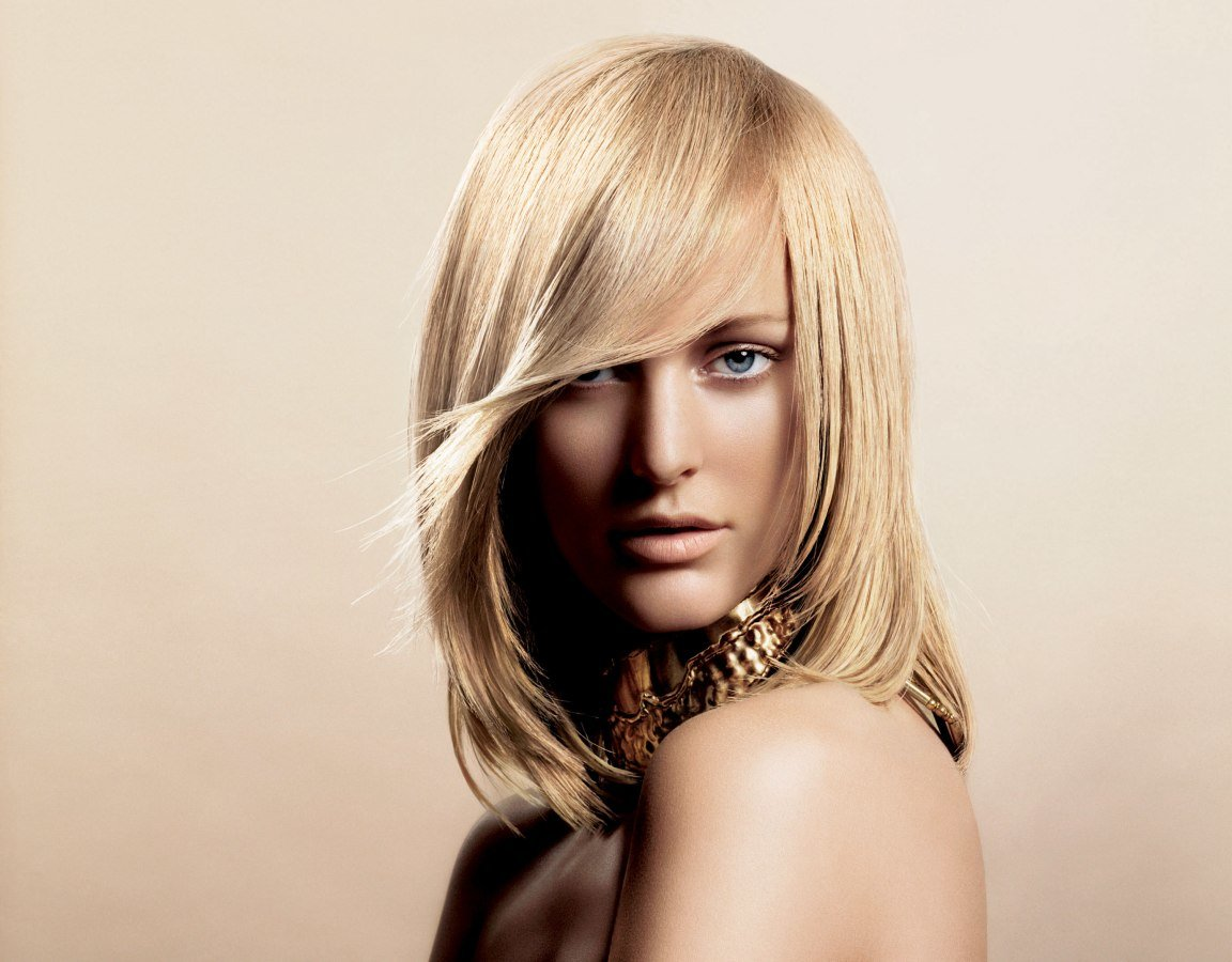 Free L Oréal Color Hairstyles With Fluid Movement And Soft Shapes Wallpaper