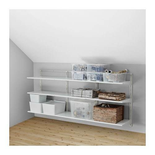 Best Algot Wall Upright Shelves Ikea With Pictures