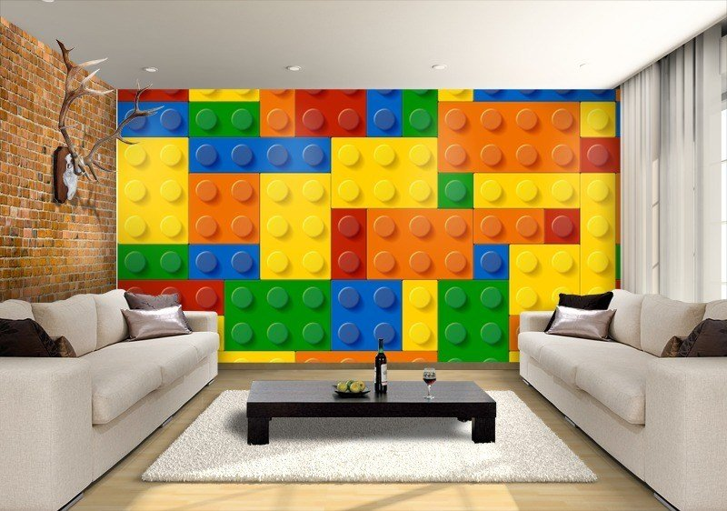 Best Lego Land Custom Wallpaper Mural Print By Jw Shutterstock With Pictures