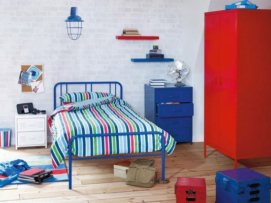 Best Locker Industrial Style Bedroom Furniture For Boys At Next With Pictures
