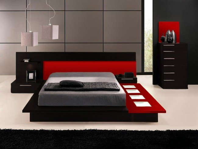 Best Red And Black Bedroom Furniture Khabars Net Khabars Net With Pictures