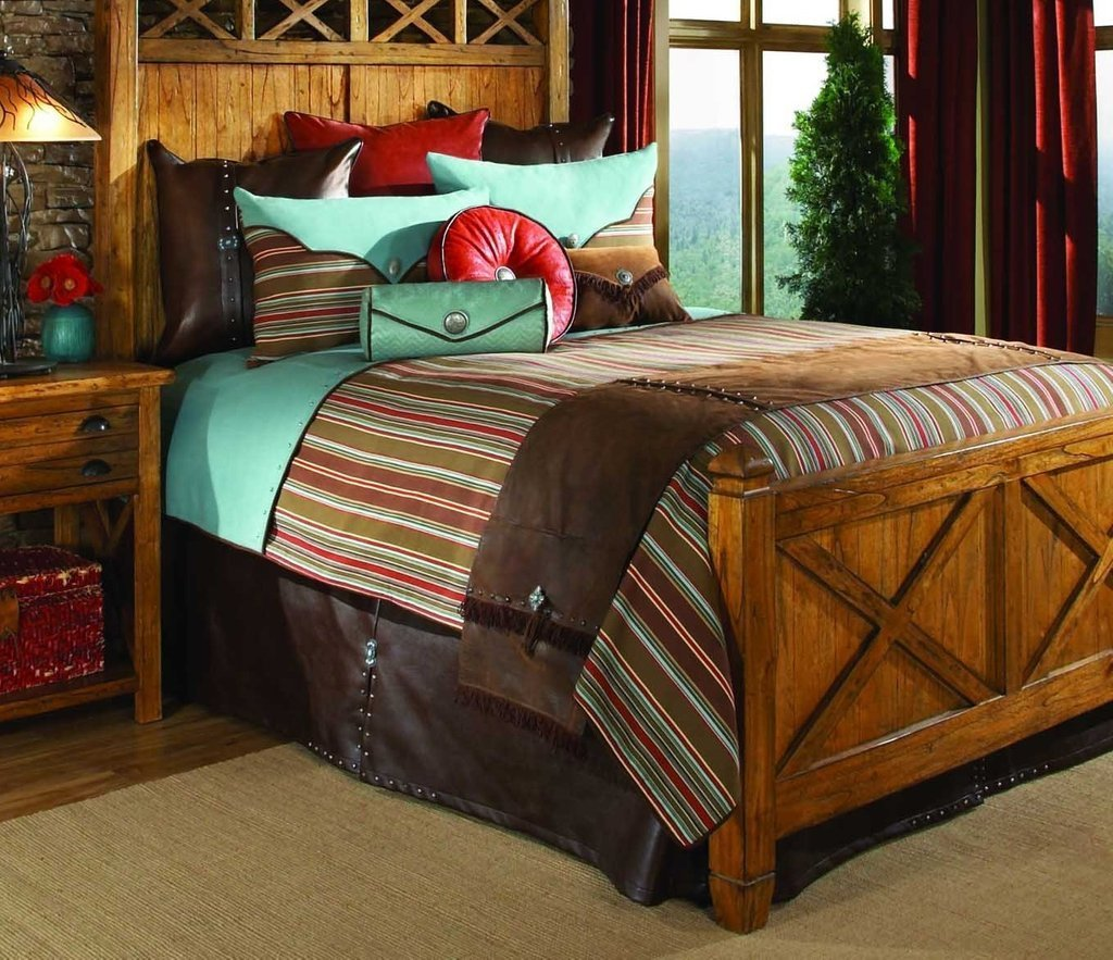 Best Awesome Rustic Bedding Sets Lostcoastshuttle Bedding Set With Pictures