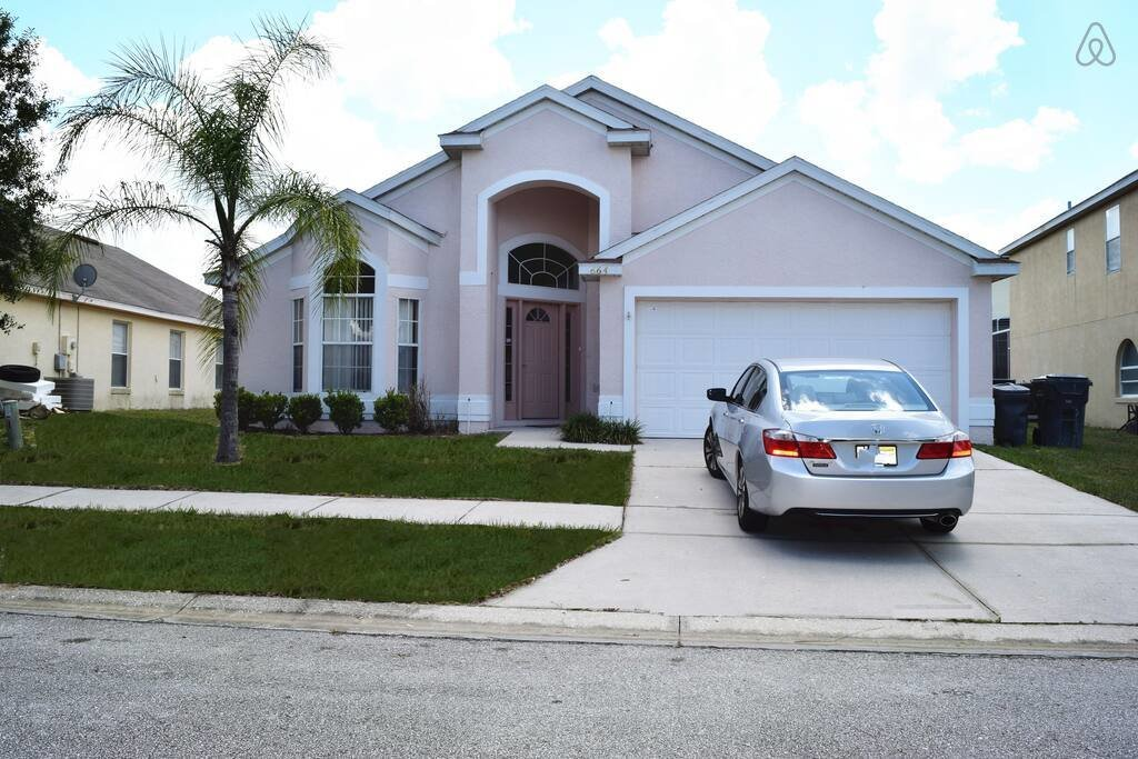 Best Nice 4B Villa With Pool Close To Disney Houses For Rent With Pictures