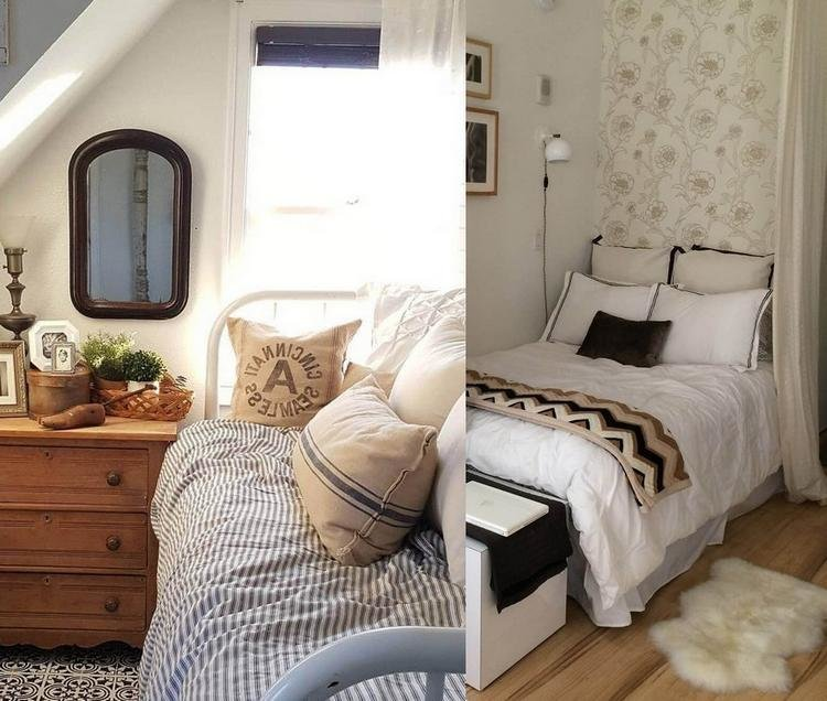 Best 30 Cozy Small Bedrooms Designs And Decorations With Pictures