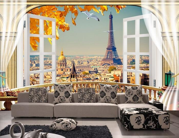 Best 3D Wallpaper Custom Mural Non Woven 3D Room Wallpaper With Pictures