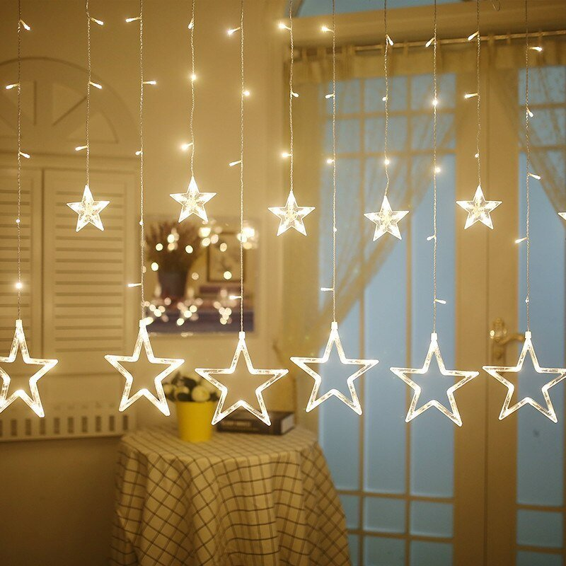 Best Aliexpress Com Buy Star Led Light String Living Room With Pictures