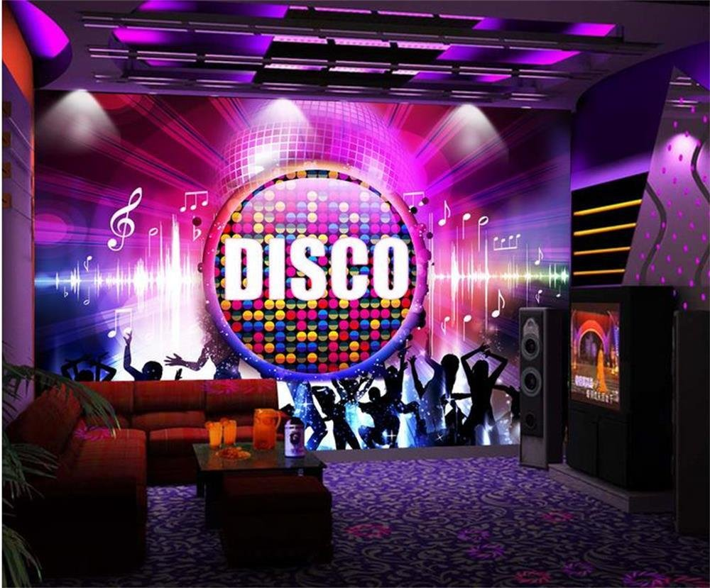 Best 3D Wallpaper Custom Photo Wall Paper Cool Disco Girl Tv Sofa Bedroom Ktv Bar Mural Hotel Living With Pictures