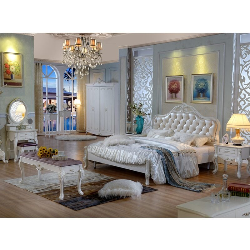 Best Modern Bedroom Furniture Fabric Good Quality Customized With Pictures