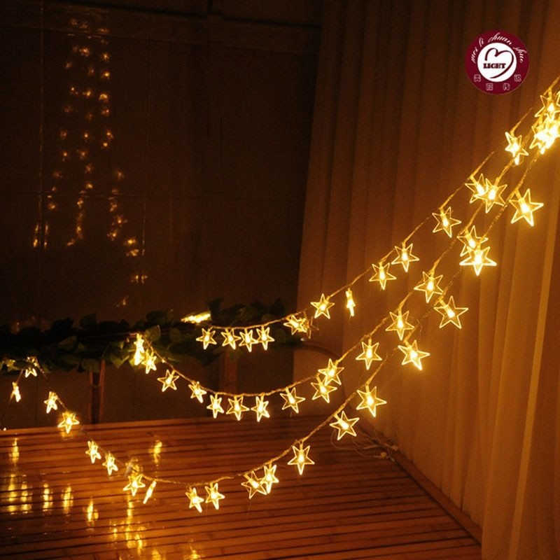 Best Rgb White 10M Led String Fairy Lights Pearl Star New Year With Pictures