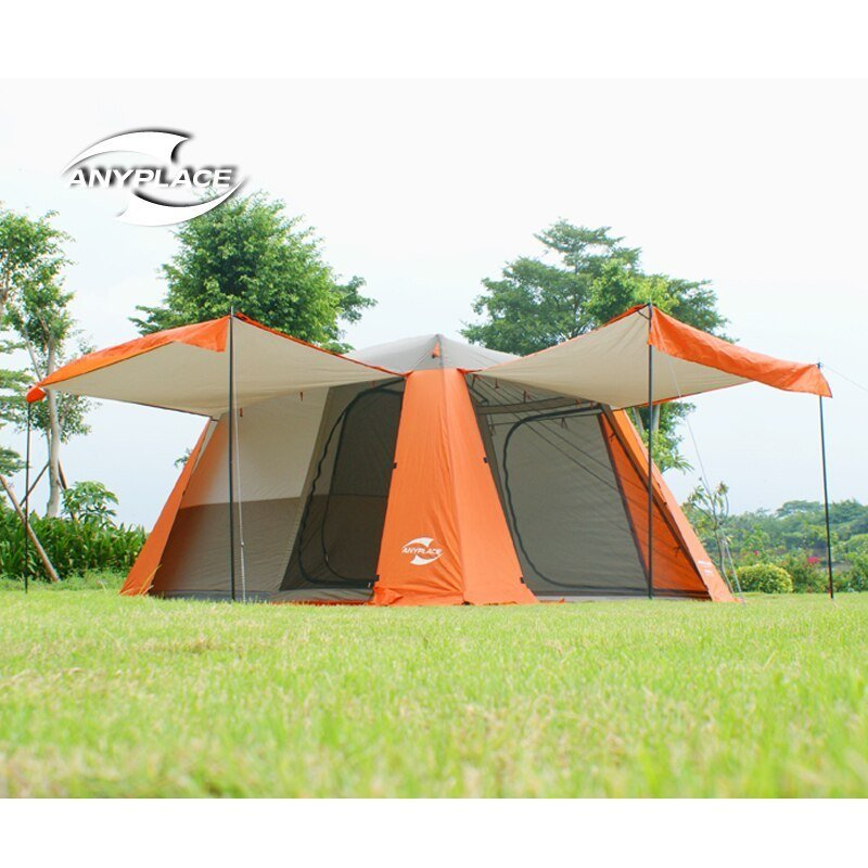 Best 2016New 3 4People Family Camping Tent Automatic Tent One With Pictures