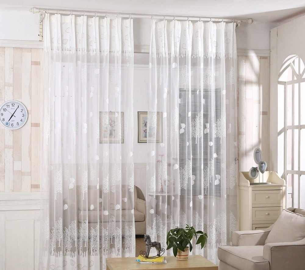 Best 2017 Fashion Sheers Tulle Window Curtains Quality Curtains Tulle Sheer Curtains For Bedroom With Pictures