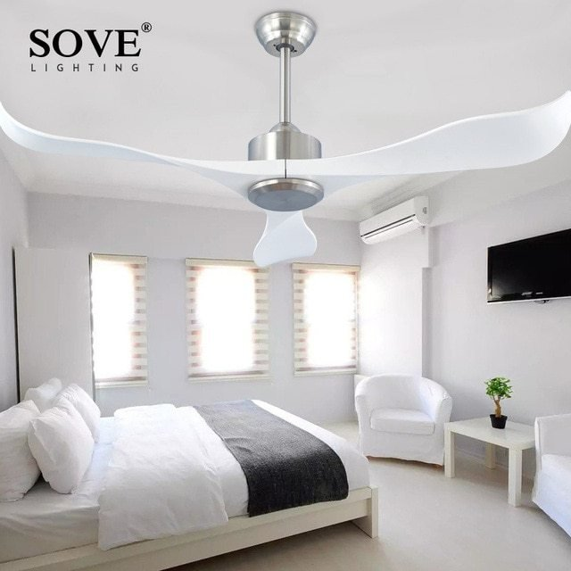 Best Sove Modern Ceiling Fans Without Light Remote Control With Pictures
