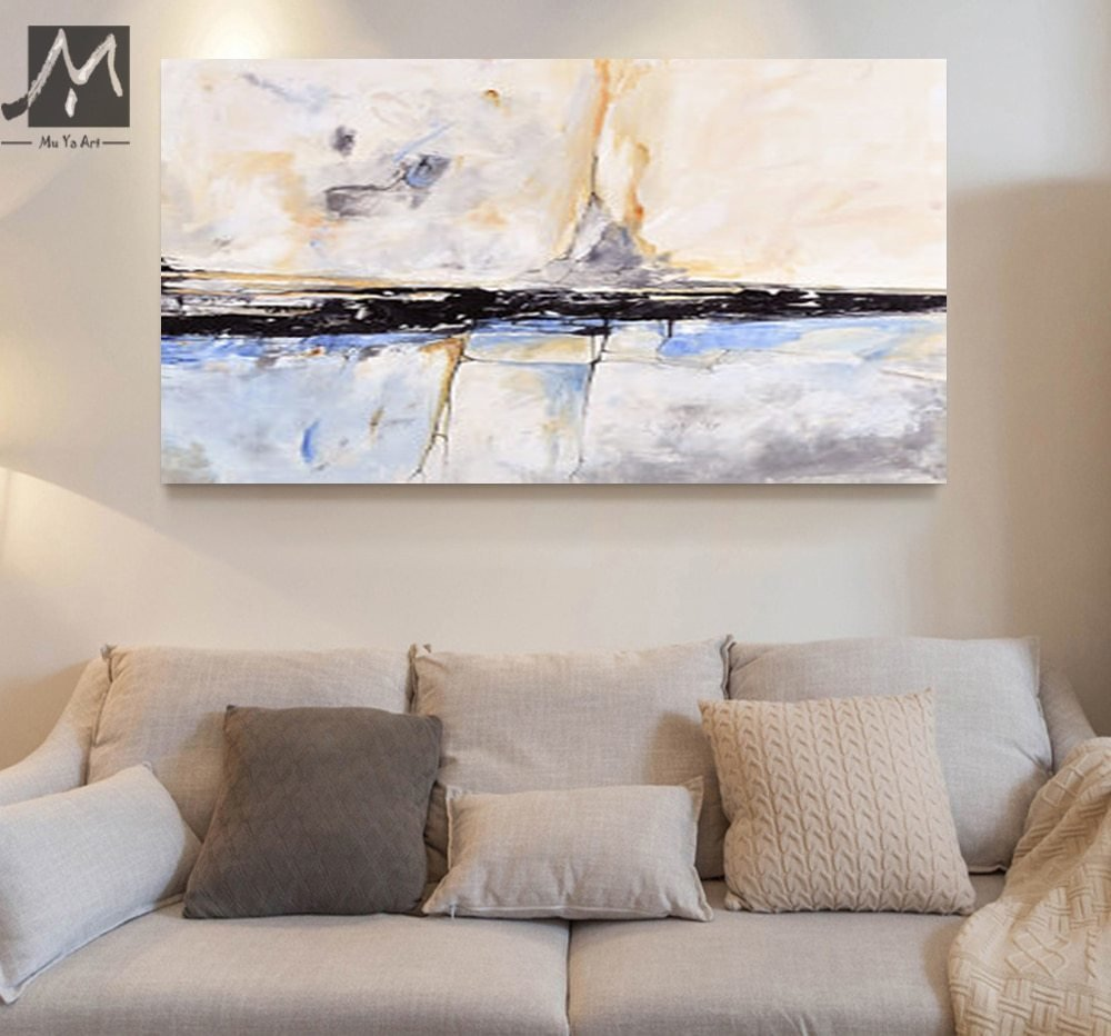 Best Muya Abstract Painting Acrylic Painting Abstract Art Wall Paintings Living Room Bedroom Home With Pictures