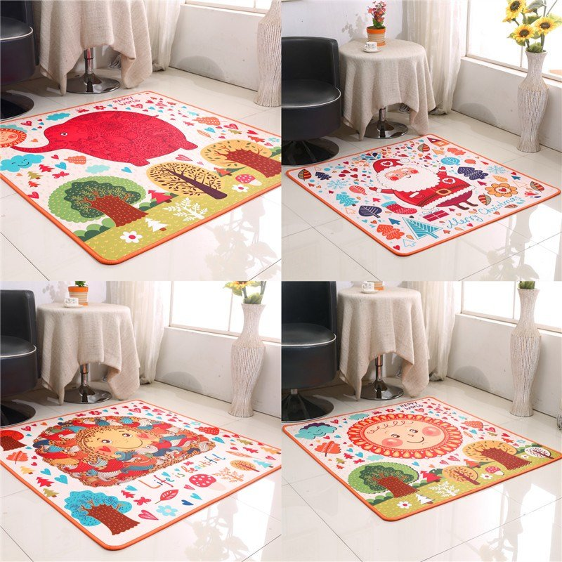 Best New Arrival Cartoon Child Bed Rug Table Mats Cute Cartoon With Pictures