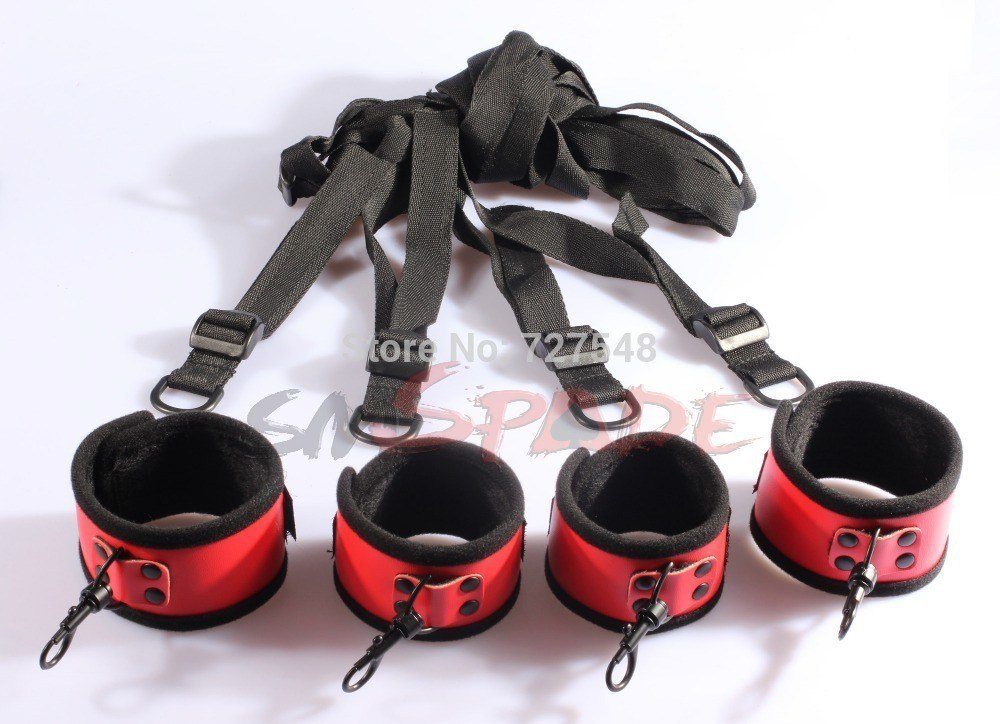 Best Pvc Bedroom Restraint Kit System Under Bed Restraints For Beginners Couples S*X Game Bed With Pictures