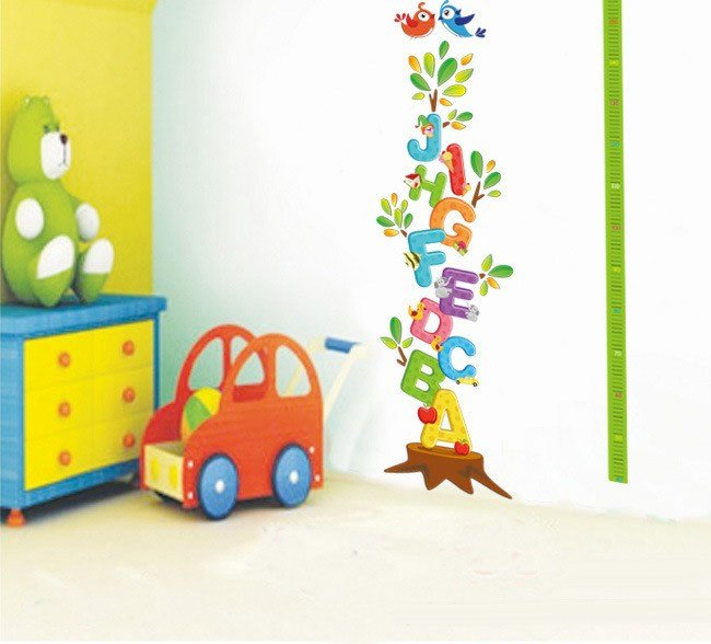Best Free Shipping 50 70Cm Removeable Letters Wall Sticker Kids With Pictures