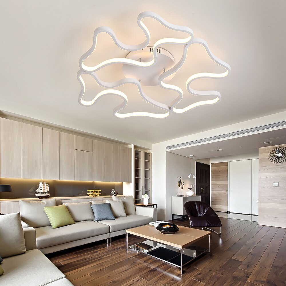 Best Modern Led Ceiling Lights For Living Room Dimming With With Pictures