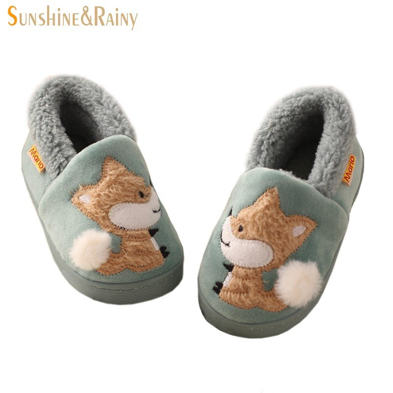 Best Winter Kids Slippers Boys Girls Household Cotton Shoes With Pictures