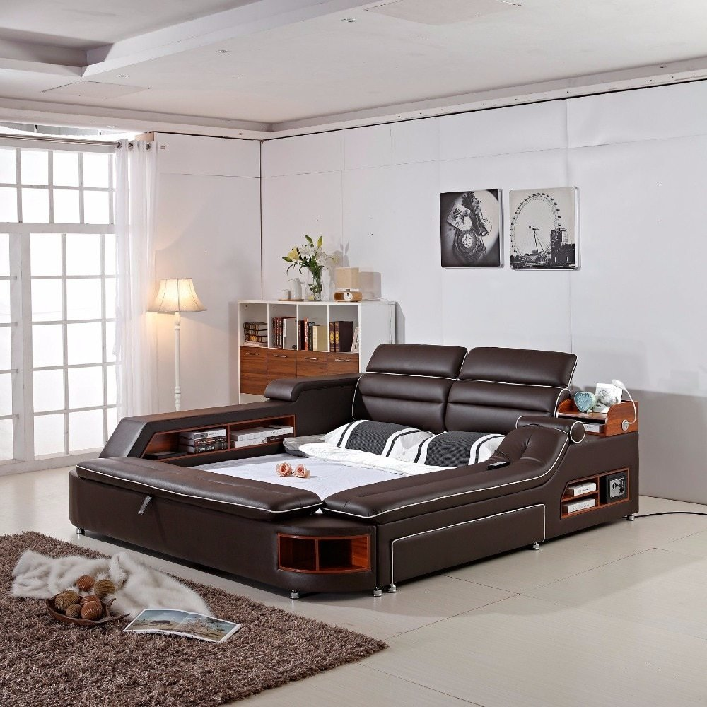 Best 2018 Limited New Arrival Modern Bedroom Set Moveis Para With Pictures