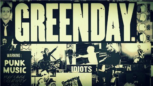 Best Nice Top Selling Green Day Poster Fabric Cloth Poster With Pictures