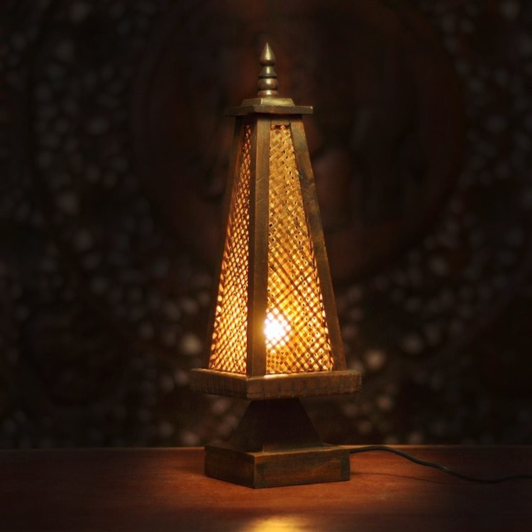 Best Unique Bamboo Table Lamp Bedroom Bedside Lamp Antique With Pictures