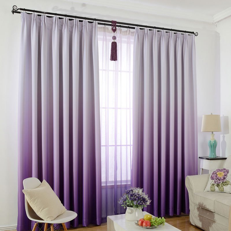 Best Window Curtain For Kids Bedroom Solid Color Gradient With Pictures