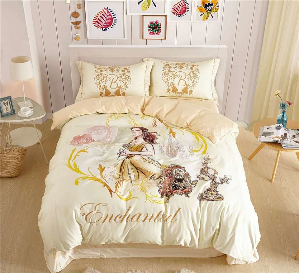 Best Disney Beauty And The Beast Belle Princess Bedding Sets With Pictures