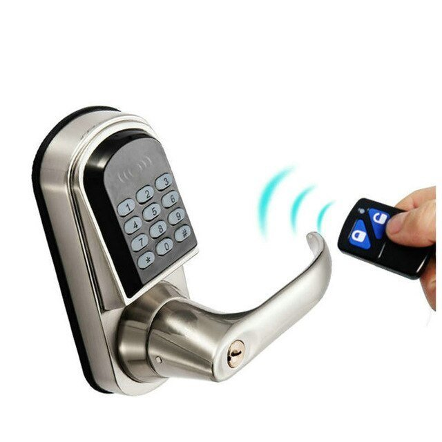 Best Electronic Password Remote Control Button Door Lock Castle Central Locking Door Lock Home With Pictures
