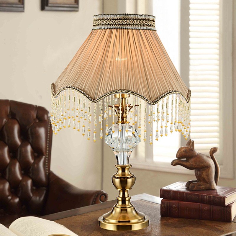 Best Modern Table Lamp Living Room Fabric Decorative Table Lamp With Pictures