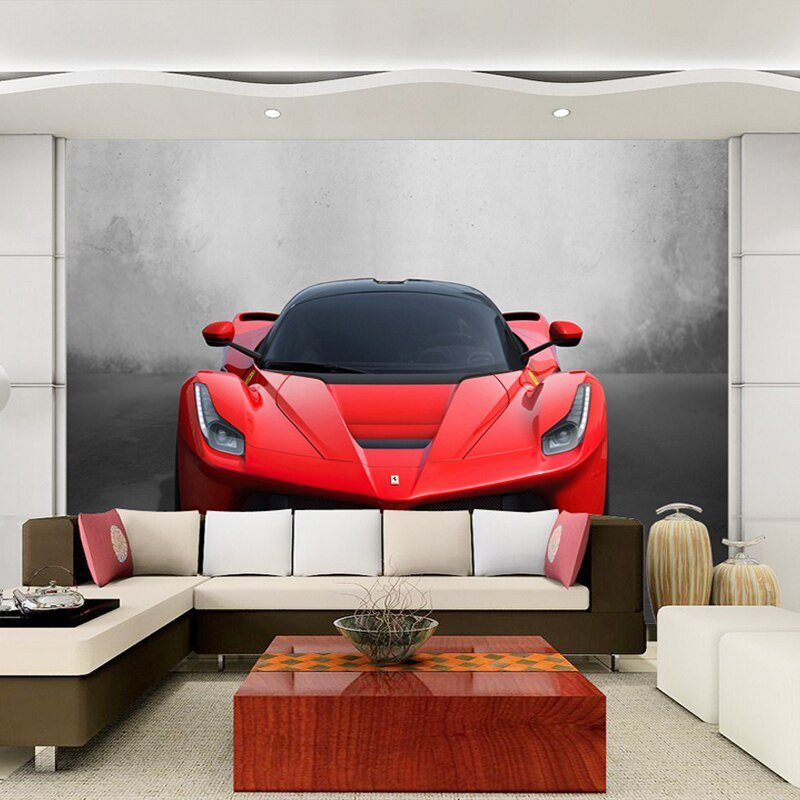 Best Custom Any Size 3D Sports Car Poster Photo Wallpaper With Pictures