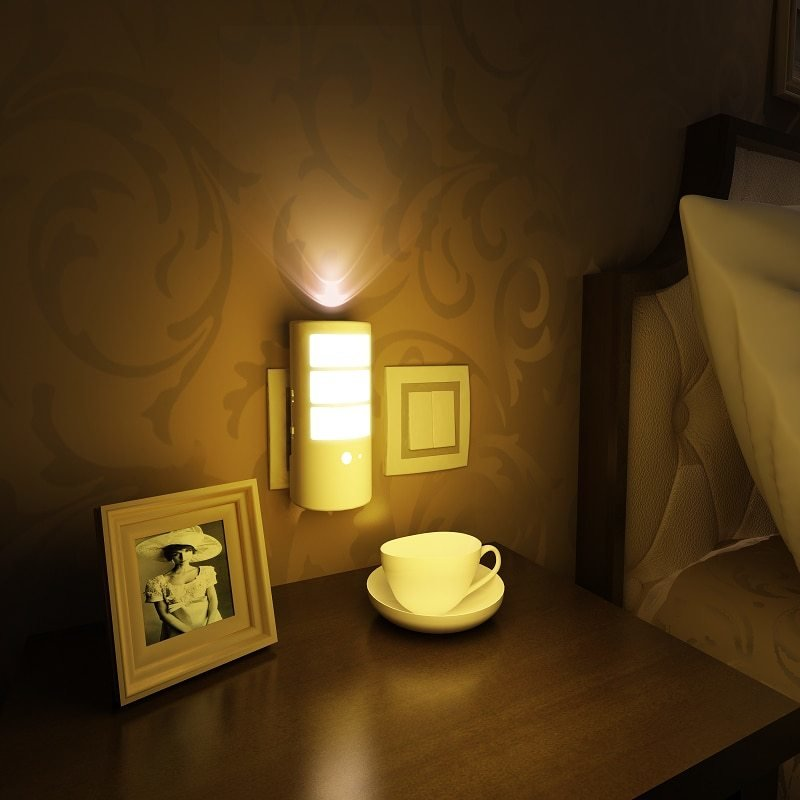 Best Miyole Led Night Light For Bedroom Sensor Led Wall Lamp With Pictures