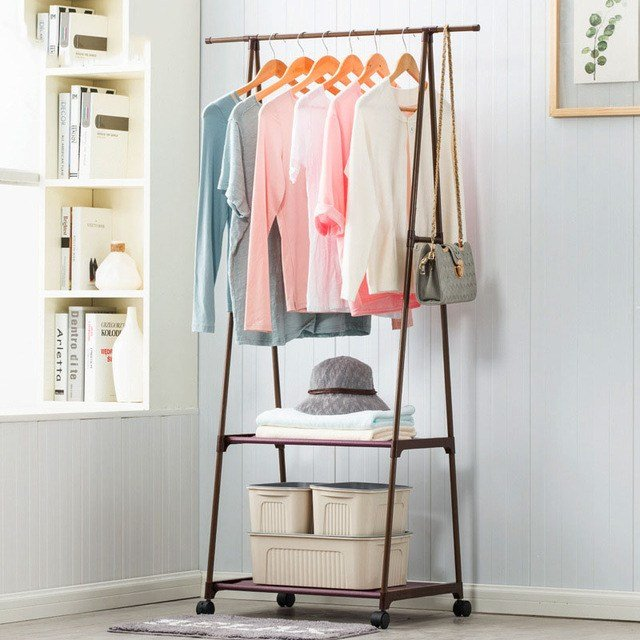 Best Multifunction Clothes Hanger Triangle Coat Rack Removable With Pictures