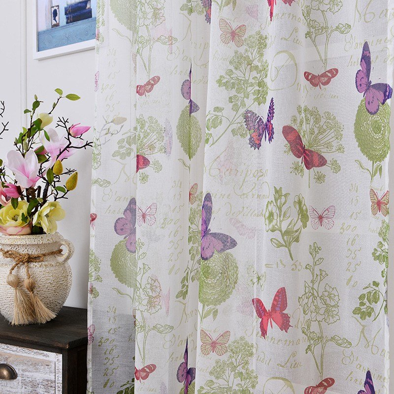 Best Soft Fabric Sheer Tulle Curtains For Bedroom Colorful With Pictures