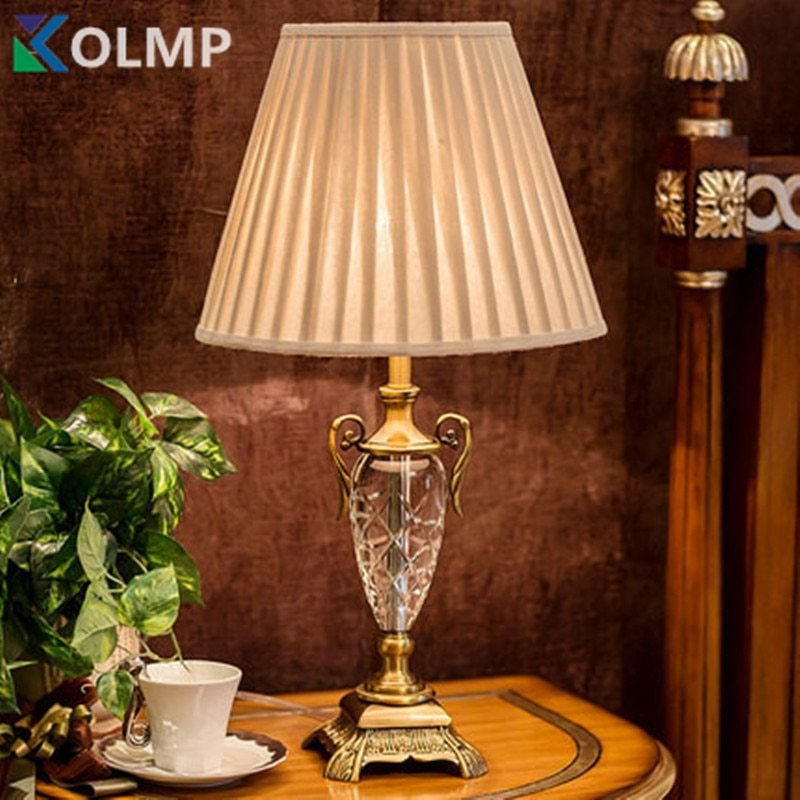 Best Luxury Crystal Table Light Crystal Table Lamp Bedroom With Pictures