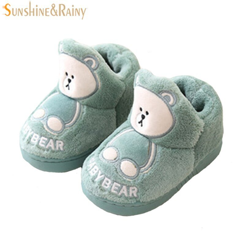 Best Girls Slippers Kids Slippers Boys Winter Household Cotton With Pictures
