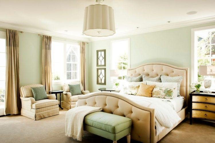 Best 10 Beautiful Master Bedrooms With Green Walls With Pictures
