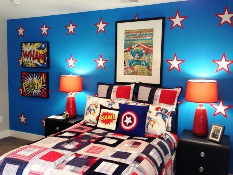Best 20 Of The Most Awesome Superhero Themed Bedrooms With Pictures