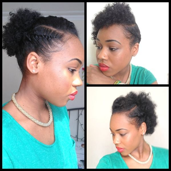 Free Easy Natural Hairstyles Simple Black Hairstyles For Wallpaper
