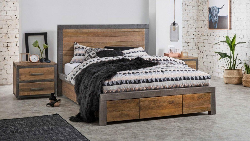 Best Buy Soho 3 Drawer Bed Harvey Norman Au With Pictures