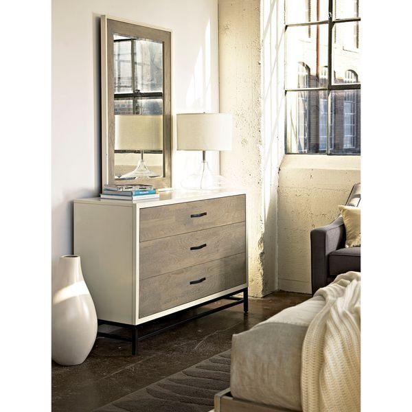 Best Shop Spencer Bedroom Mirror In Parchment Finish Off With Pictures