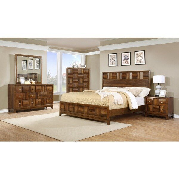 Best Calais Solid Wood Construction Bedroom Set With Bed With Pictures
