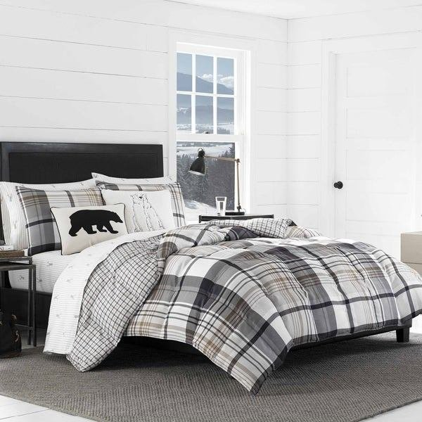 Best Shop Eddie Bauer Normandy Plaid Comforter Set On Sale Free Shipping Today Overstock 16900613 With Pictures