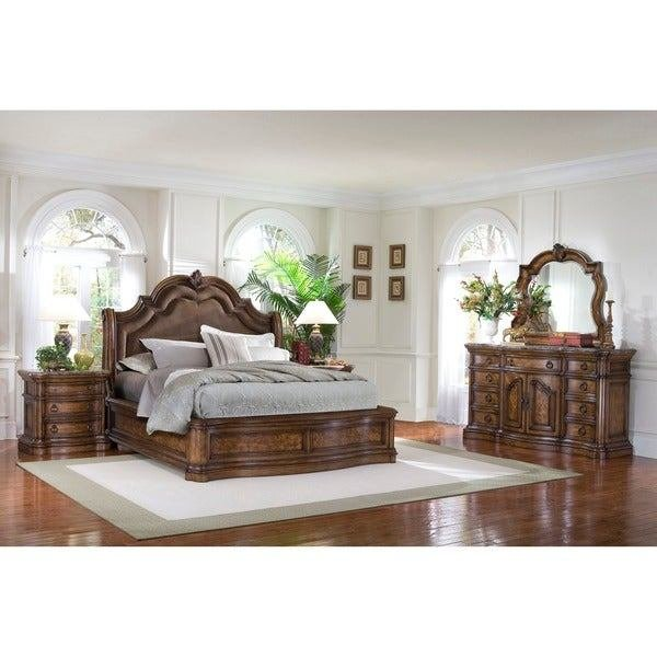 Best Shop Montana 5 Piece Platform King Size Bedroom Set On With Pictures
