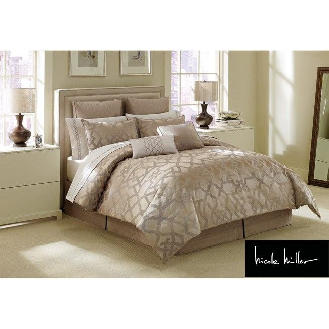 Best Shop Nicole Miller Gate California King Size Comforter Set With Pictures