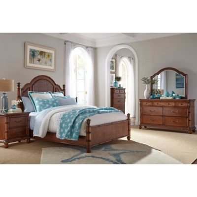 Best Palmetto Home Panama Jack Isle Of Palms 4 Piece Bedroom Set Bed Bath Beyond With Pictures