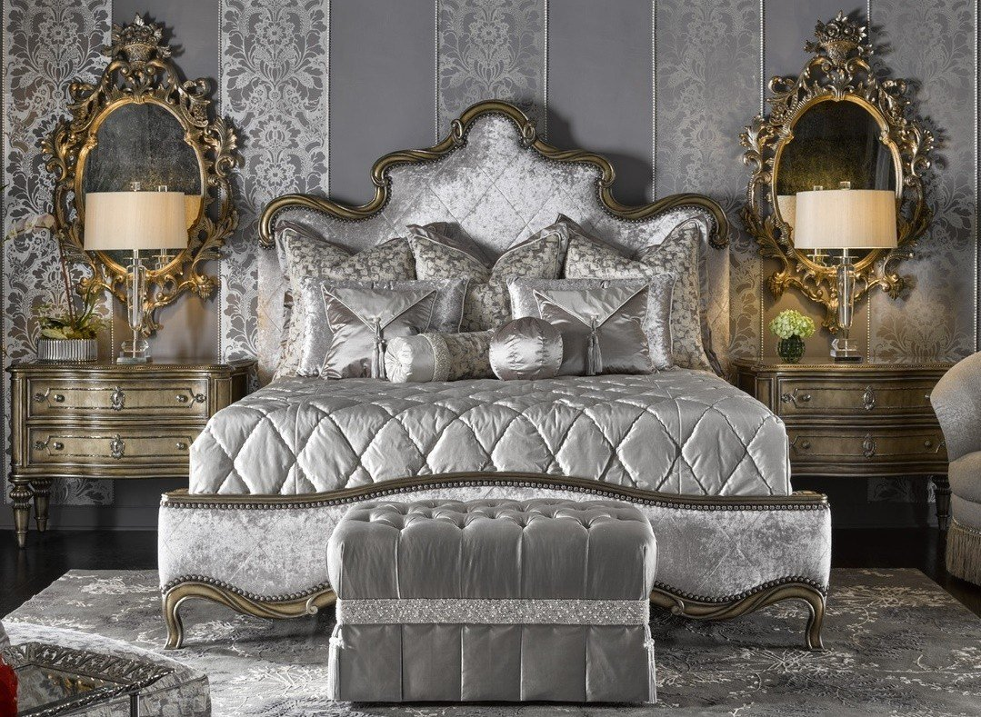 Best Fancy French Royal Grand Orleans Master Bed With Pictures