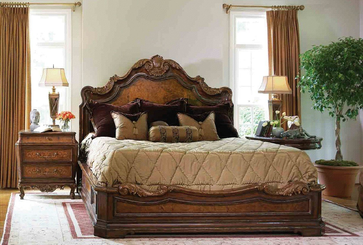 Best High End Master Bedroom Set Platform Bed With Pictures