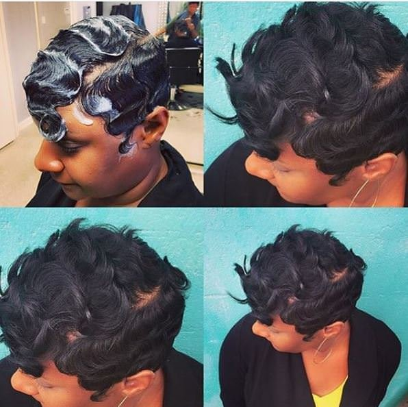 Free 8 Finger Wave Styles Perfect For The Woman That Prefers Wallpaper